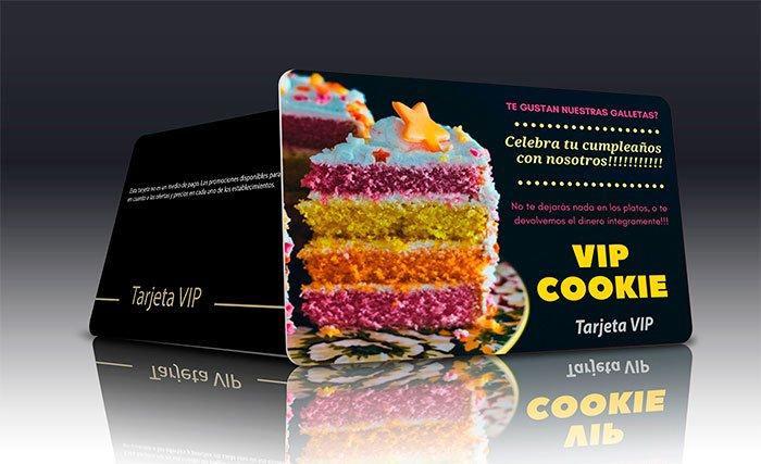 Tarjeta Cookie VIP