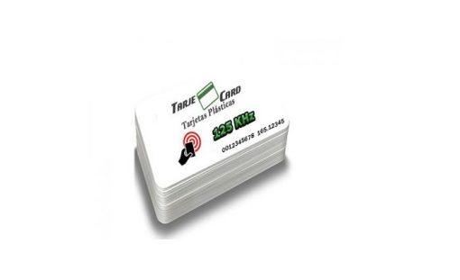 Tarjeta RFID 125 KHz USN impreso