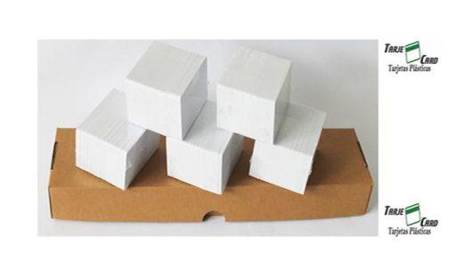 Caja 500 Tarjetas de PVC