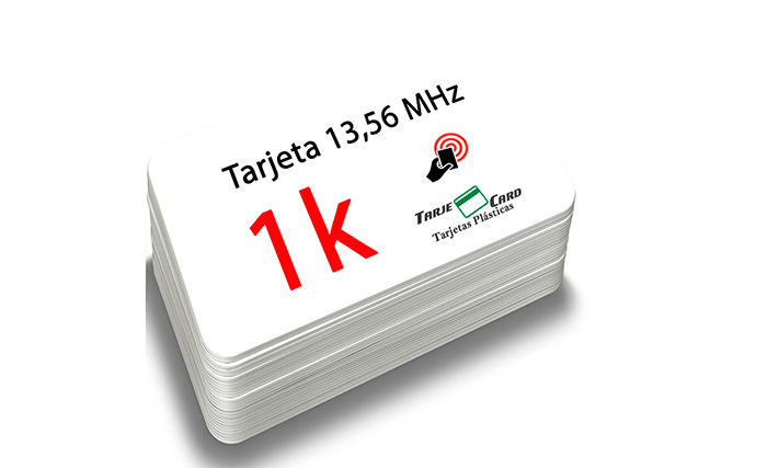 Tarjetas RFID 13,56 MHz