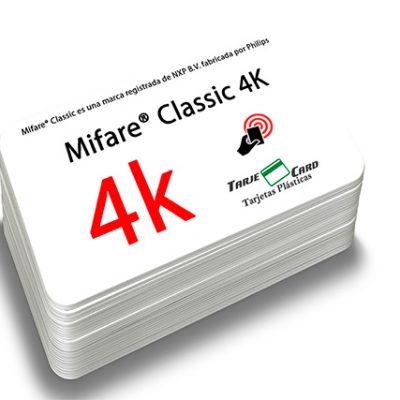 Tarjeta Mifare® Classic 4K